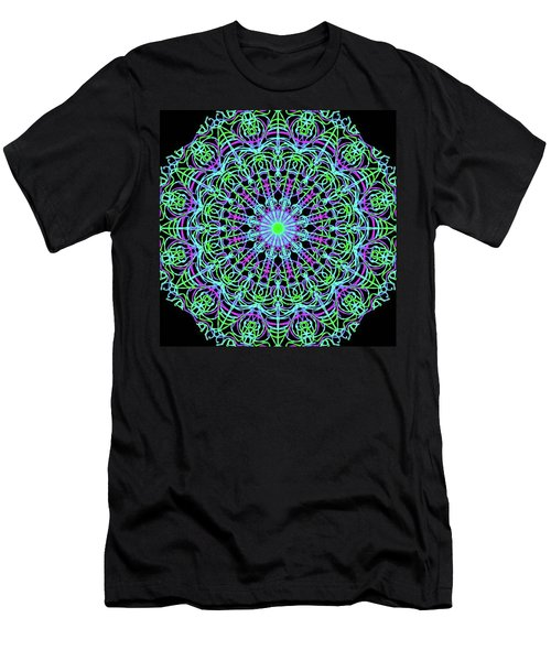 Emerald And Amythist Men's T-Shirt (Athletic Fit)