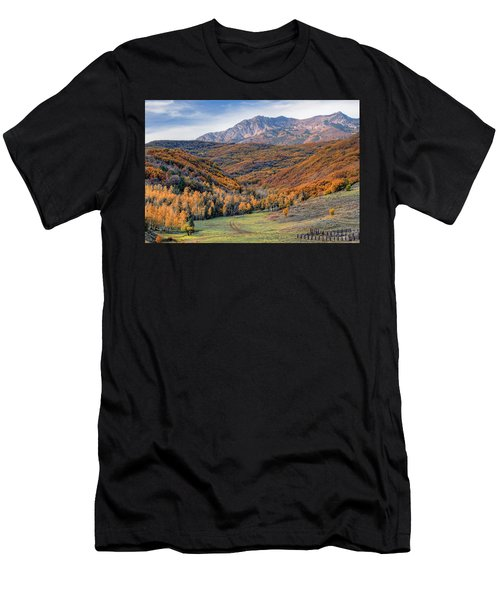Wasatch Moutains Utah Men's T-Shirt (Athletic Fit)