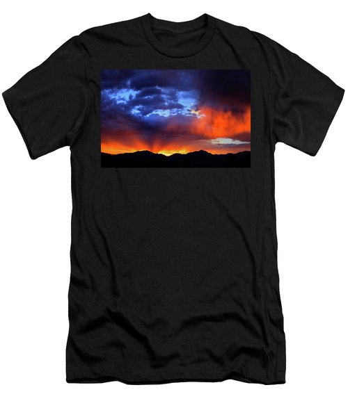 Wasatch Sunrise Men's T-Shirt (Athletic Fit)
