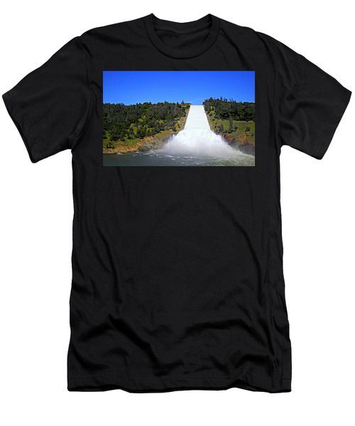 Men's T-Shirt (Athletic Fit) featuring the photograph Water by AJ Schibig