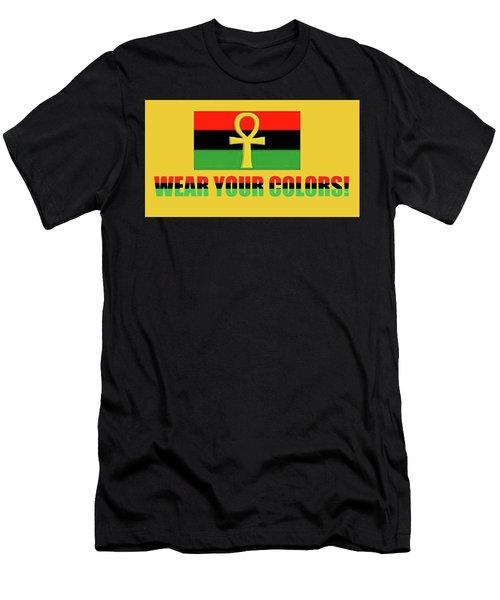 Wear Rgb Men's T-Shirt (Athletic Fit)