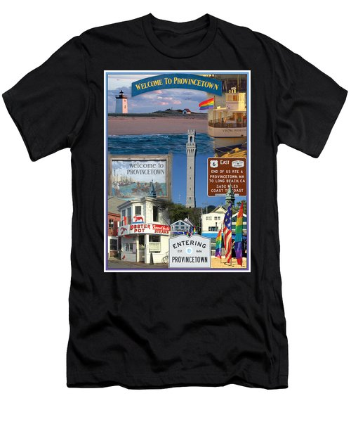 Welcome To Provincetown Men's T-Shirt (Athletic Fit)