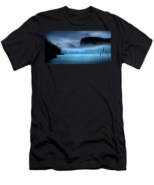 While You Were Sleeping Men's T-Shirt (Slim Fit) by John Poon