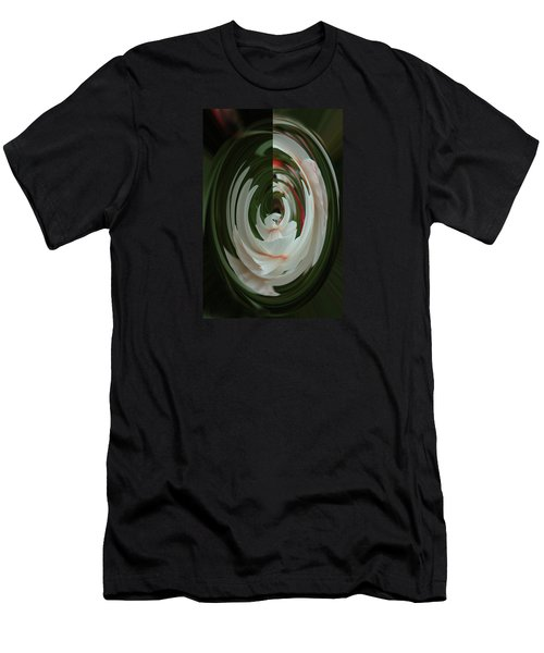Men's T-Shirt (Athletic Fit) featuring the photograph White Form by Nareeta Martin
