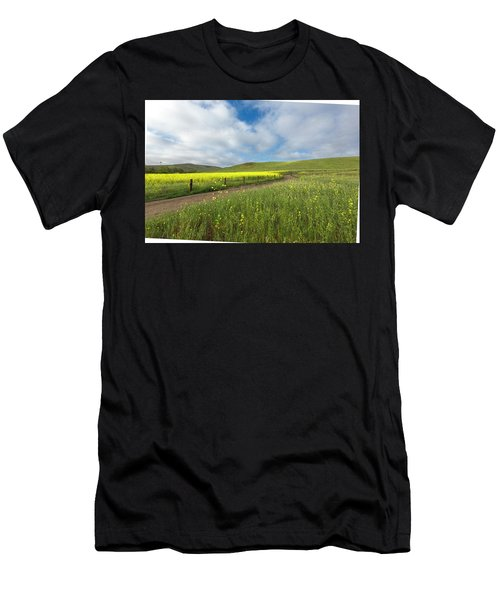 Wild Flower Men's T-Shirt (Athletic Fit)