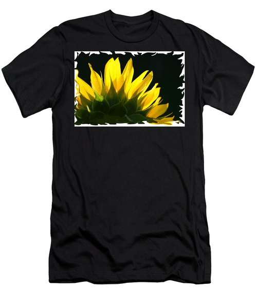 Men's T-Shirt (Slim Fit) featuring the photograph Wild Sunflower by Shari Jardina