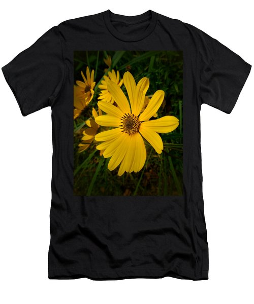 Wild Yellow Men's T-Shirt (Athletic Fit)