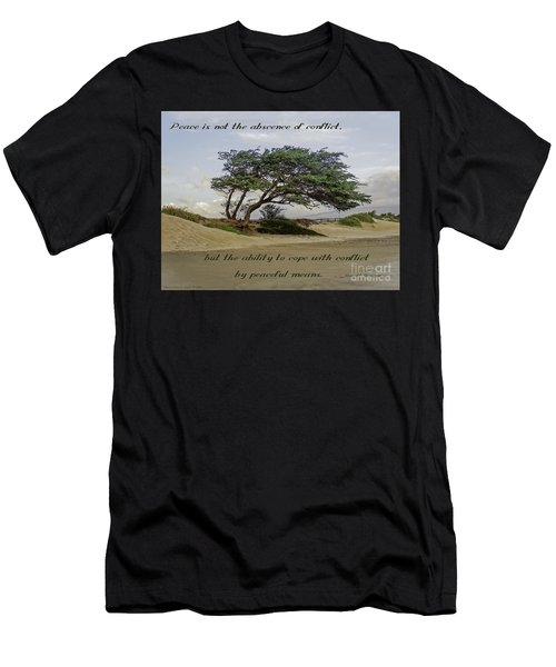 Windy Lean Men's T-Shirt (Athletic Fit)
