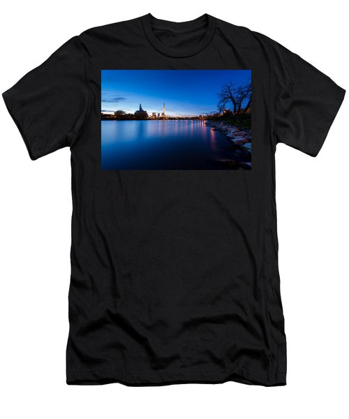 Winnipeg At Night Men's T-Shirt (Athletic Fit)