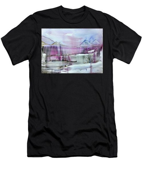 Winter Afternoon Men's T-Shirt (Athletic Fit)