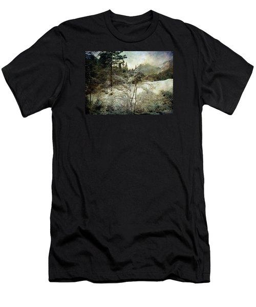 Winter Mood Men's T-Shirt (Slim Fit) by Vittorio Chiampan