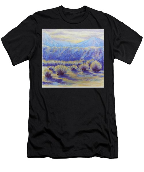 Winter Morning Riverbend Men's T-Shirt (Athletic Fit)