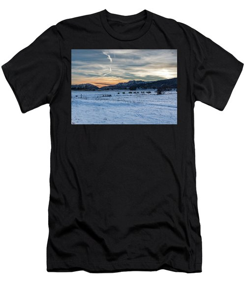 Winter Range Men's T-Shirt (Athletic Fit)