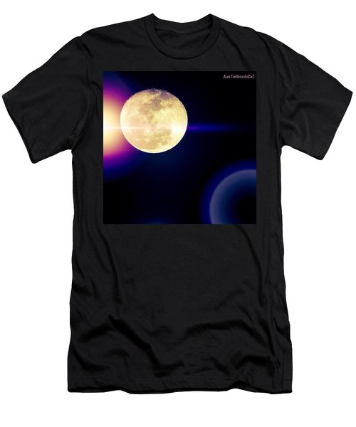 Wouldn't It Be Great If The #moon And Men's T-Shirt (Athletic Fit)