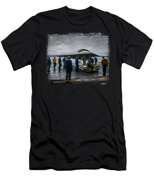 X-47b Uav Men's T-Shirt (Athletic Fit)