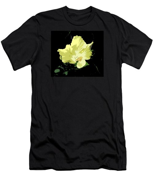 Yellow Beauty Men's T-Shirt (Athletic Fit)