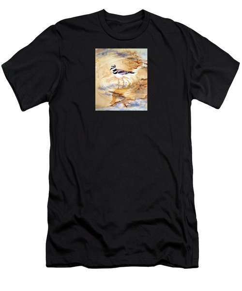 Yellowstone Killdeer Men's T-Shirt (Athletic Fit)