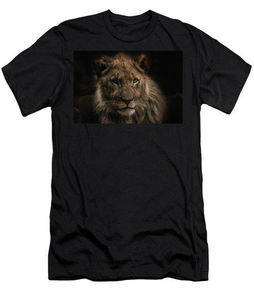 Young Lion Men's T-Shirt (Athletic Fit)