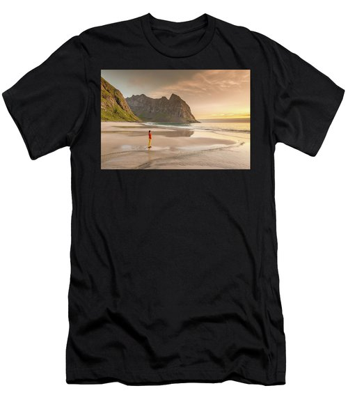 Your Own Beach Men's T-Shirt (Athletic Fit)
