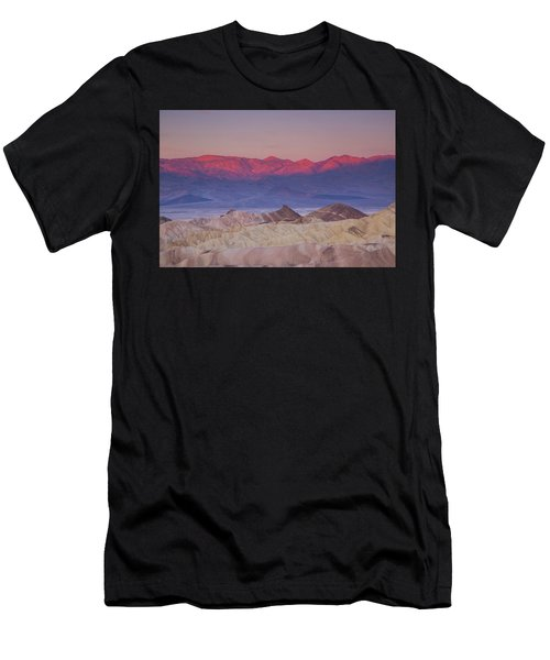Zabriskie Sunrise Men's T-Shirt (Athletic Fit)
