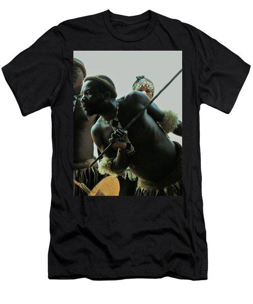Zulu Warrior Men's T-Shirt (Athletic Fit)
