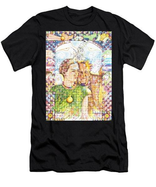 10000 Caras Son Uno Men's T-Shirt (Athletic Fit)