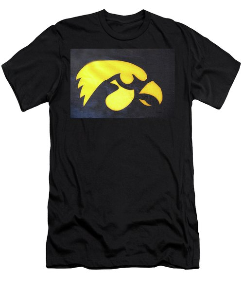 10724  Iowa Hawkeye Men's T-Shirt (Athletic Fit)