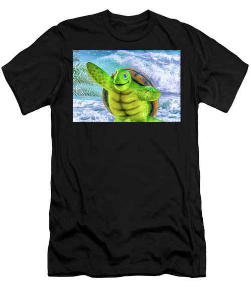 10731 Myrtle The Turtle Men's T-Shirt (Athletic Fit)