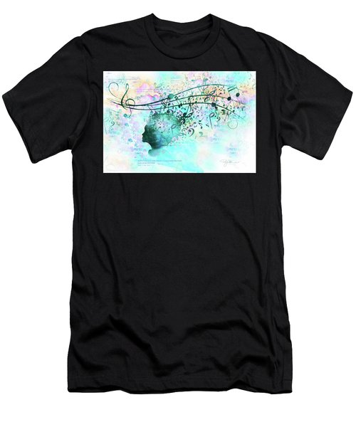10846 Melodic Dreams Men's T-Shirt (Athletic Fit)