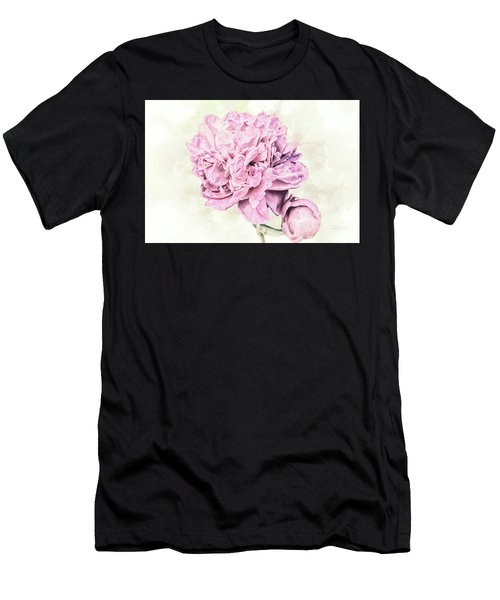 10861 Spring Peony Men's T-Shirt (Athletic Fit)