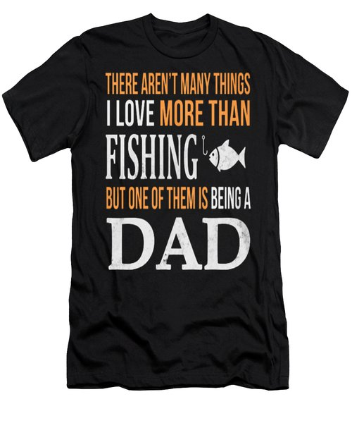 Fishing Men's T-Shirt (Slim Fit) by Thucidol