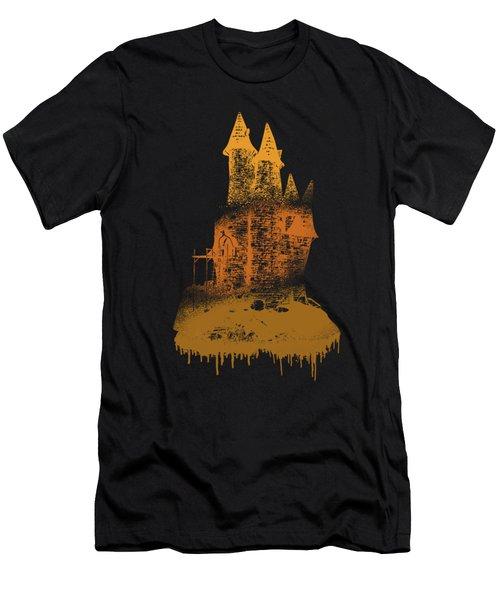 Paint Drips Men's T-Shirt (Slim Fit) by Solomon Barroa