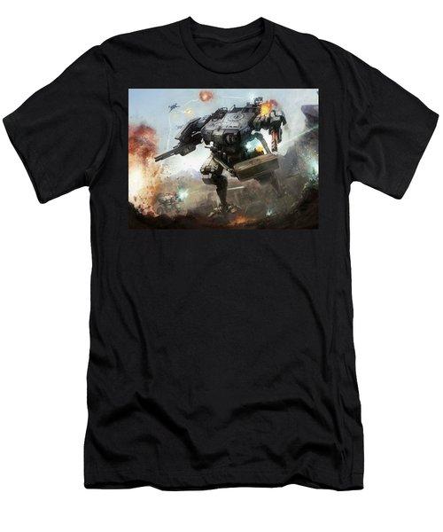 Robot Men's T-Shirt (Athletic Fit)