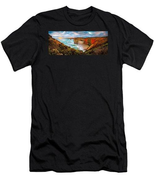 12 Apostle Sunset Men's T-Shirt (Athletic Fit)