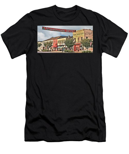 Downtown Perrysburg Men's T-Shirt (Athletic Fit)