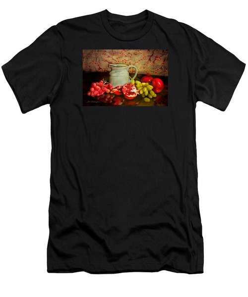 Men's T-Shirt (Athletic Fit) featuring the digital art Fall Harvest by Jill Wellington