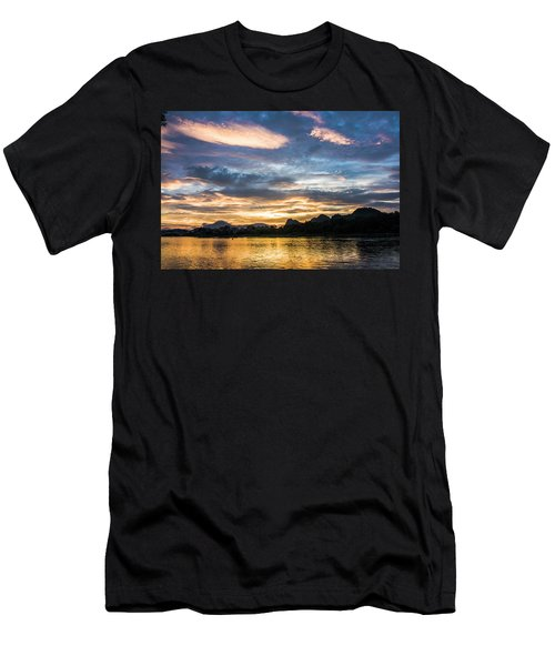 Sunrise Scenery In The Morning Men's T-Shirt (Athletic Fit)