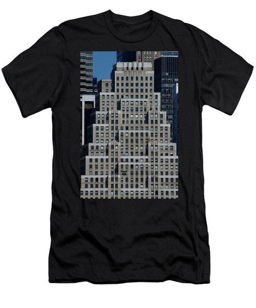 120 Wall Street Nyc Men's T-Shirt (Athletic Fit)
