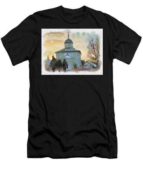 Churches Russia Men's T-Shirt (Athletic Fit)