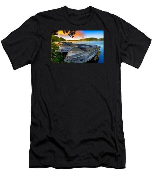Lake Logan 2 Men's T-Shirt (Slim Fit) by Brian Stevens