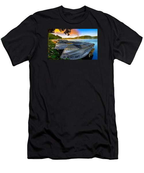 Lake Logan 2 Men's T-Shirt (Athletic Fit)
