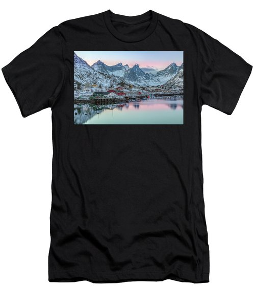 Reine, Lofoten - Norway Men's T-Shirt (Athletic Fit)