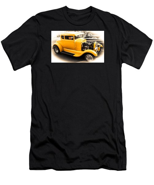 Vintage Car Men's T-Shirt (Slim Fit) by Mickey Clausen