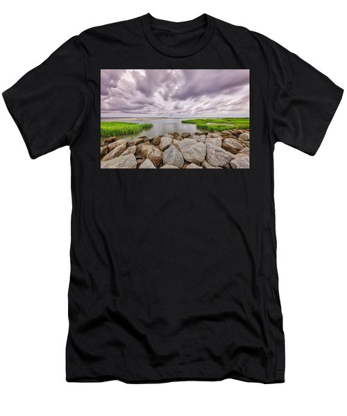 Seascape Of Hilton Head Island Men's T-Shirt (Athletic Fit)