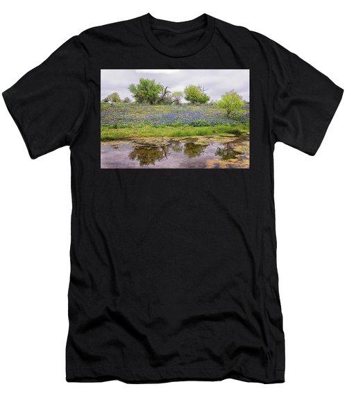 Texas Bluebonnets 7 Men's T-Shirt (Athletic Fit)