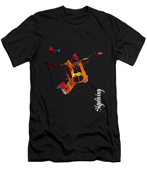 Skydiving Collection Men's T-Shirt (Athletic Fit)