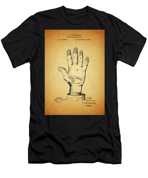 1878 Corn Husking Glove Patent Men's T-Shirt (Athletic Fit)