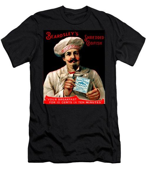 1895 Shredded Codfish Breakfast Men's T-Shirt (Slim Fit) by Historic Image