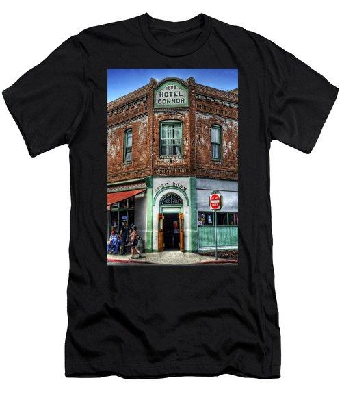 1898 Hotel Connor - Jerome Arizona Men's T-Shirt (Athletic Fit)