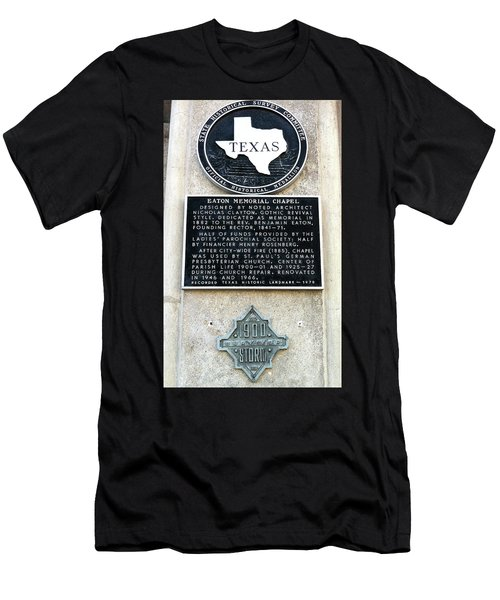 Men's T-Shirt (Slim Fit) featuring the photograph 1900 Storm Galveston by Wilhelm Hufnagl